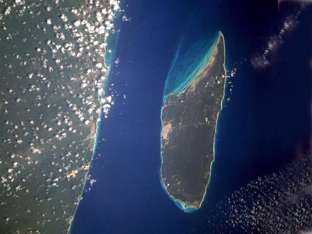 Cozumel Satellite Photo